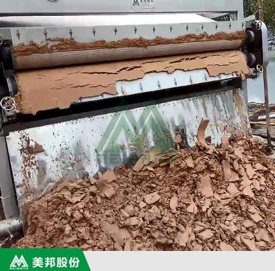 洗砂污水压泥机