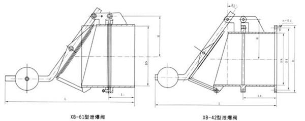 XB-42泄爆阀图