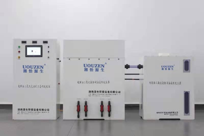 大型电解法二氧化氯发生器