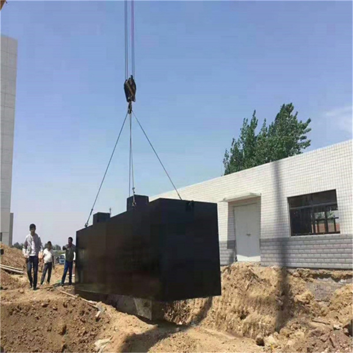 云南省*疾控中心污水处理设备