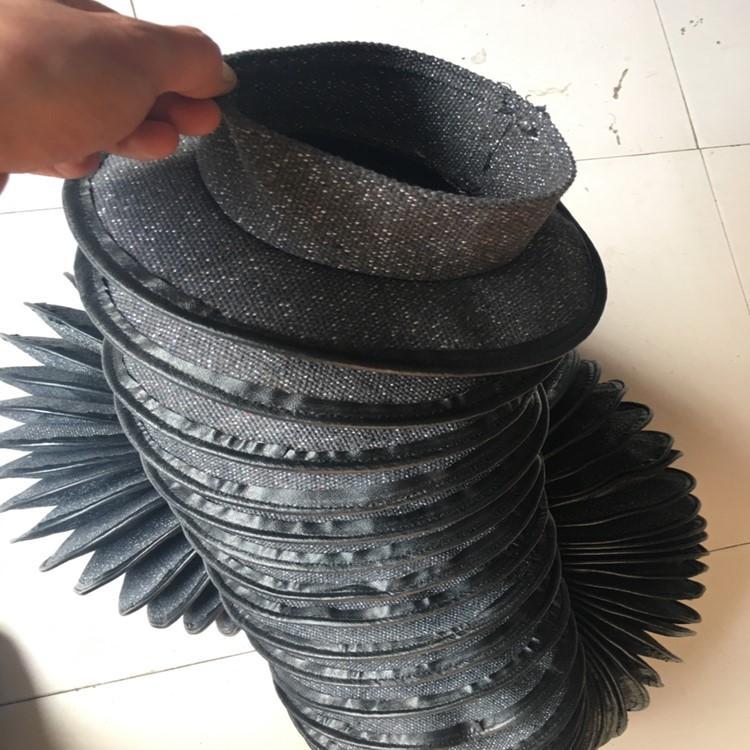 缝合式液压油缸圆形防尘套定制