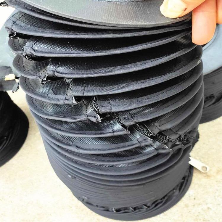 缝合式液压油缸圆形保护罩