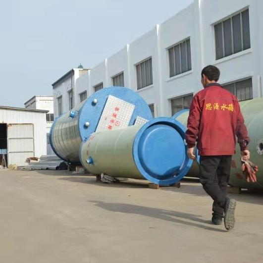 泰州GPRS移动通讯一体化雨水提升泵站