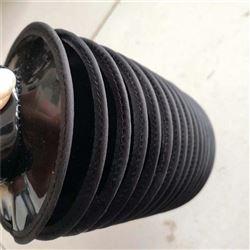 拉链式耐酸碱液压立柱防尘罩