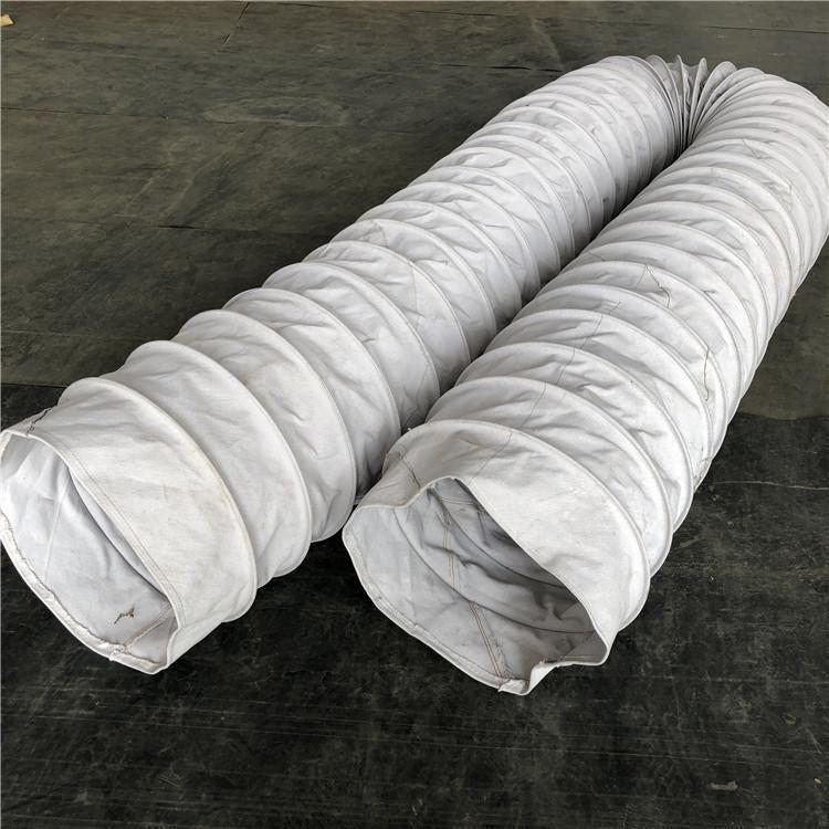 除尘下料口耐磨帆布软连接